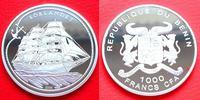 1000 CFA 2006 Benin Segelschiff Sörlandet, Seefahrt Polierte Platte Pro... 27,00 EUR  zzgl. 5,00 EUR Versand
