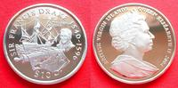 10 Dollars 2004 British Virgin Islands Frances Drake/ Golden Hind, Seef... 20,00 EUR  zzgl. 5,00 EUR Versand