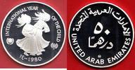 50 Dirham 1980 Vereinigte Arabische Emirate UNICEF International Year o... 26,00 EUR  zzgl. 5,00 EUR Versand