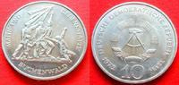 10 Mark 1972 DDR Mahn- und Gedenkstätte Buchenwald bankfrisch  4,00 EUR  zzgl. 5,00 EUR Versand