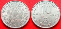 10 Mark 1973 DDR Weltfestspiele bankfrisch  4,00 EUR  +  5,00 EUR shipping