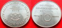10 Mark 1974 DDR 25 Jahre DDR bankfrisch  4,00 EUR  zzgl. 5,00 EUR Versand