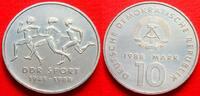 10 Mark 1988 DDR DDR Sport Stempelglanz  6,00 EUR  zzgl. 5,00 EUR Versand