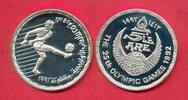 5 Pfund 1992 Aegypten Olympiade 1992 Barcelona, Fußball Polierte Platte... 14,00 EUR  zzgl. 5,00 EUR Versand