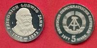 5 Mark 1977 DDR Friedrich Ludwig Jahn Polierte Platte offen, Proof PP  25,00 EUR  zzgl. 5,00 EUR Versand
