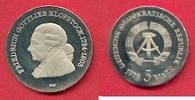 5 Mark 1978 DDR Friedrich Gottlieb Klopstock Polierte Platte offen, Pro... 30,00 EUR  zzgl. 5,00 EUR Versand