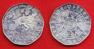 5 Euro 2004 Oesterreich Eurostar - Europa Stern, EU-Erweiterung Stempel... 6,00 EUR  zzgl. 5,00 EUR Versand