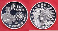 1,5 Euro 2006 Frankreich Eurostar - Europa Stern, Robert Schuman Polier... 16,00 EUR  zzgl. 5,00 EUR Versand