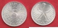 5 DM 1974 G BRD (56/76MÜLL) J. 387 Adler  bankfrisch  7,50 EUR