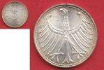 5 DM 1951 D BRD (2/25GÄRT) J. 387 Adler  bankfrisch, tolle Goldpatina  20,00 EUR  zzgl. 5,00 EUR Versand