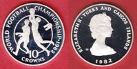 10 Crown 1982 Turks and Caicos Fussball WM 1982 Spanien, Zwei Fußballsp... 16,00 EUR