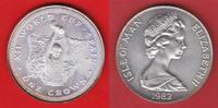 1 Crown 1982 Isle of Man Fussball WM 1982 Spanien, Weltcup Stempelglanz... 16,00 EUR  zzgl. 5,00 EUR Versand