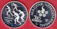 500 Forint 1984 Ungarn Olympiade 1984 Sarajevo - Skilangläufer Polierte... 16,00 EUR  zzgl. 5,00 EUR Versand