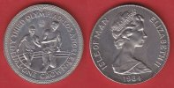 Isle of Man 1 Crown 1984 Stempelglanz Brilliant uncirculated BU Olympiad... 4,00 EUR