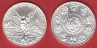 1 Onza 2000 Mexiko Libertad, Siegesgöttin 1 Unze Feinsilber, Unzen Stem... 28,00 EUR