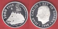 1000 Pesetas 1998 Spanien Expo 1998, Juan Sebastian de Elcano, Seefahrt... 18,00 EUR  zzgl. 5,00 EUR Versand
