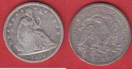 1/2 Dollar 1870 S USA (142De) seated Liberty Halbdollar, San Francisco ... 39,00 EUR