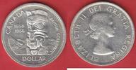1 Dollar 1958 Kanada Totempfahl - British Columbia vorzüglich-Stempelgl... 9,90 EUR