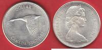 1 Dollar 1967 Kanada Wildgans bankfrisch, unc.  12,00 EUR  zzgl. 5,00 EUR Versand