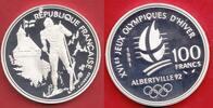 100 Francs 1991 Frankreich Olympiade 1992 Albertville, Langlauf und Sch... 13,00 EUR