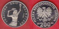 200 Zloty 1987 Polen Olympiade Seoul, Tennis, Steffi Graf - Probe Polie... 17,20 EUR  zzgl. 5,00 EUR Versand