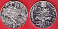 20 Eurotaler 1997 Niederlande Pieter Cornelisz Hooft Polierte Platte, P... 12,00 EUR