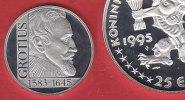 25 Ecu 1995 Niederlande Grotius mit Silbergehaltangabe, Schwertmarke se... 19,00 EUR  zzgl. 5,00 EUR Versand