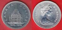 1 Dollar 1976 Kanada Parlamentsbibliothek Stempelglanz fein, Prooflike  8,00 EUR  zzgl. 5,00 EUR Versand