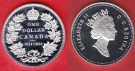 Kanada 1 Dollar 2001 Polierte Platte Proof...