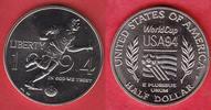 1/2 Dollar 1994 USA Fußball WM 1994, Spieler Stempelglanz Brilliant unc... 7,00 EUR  zzgl. 5,00 EUR Versand