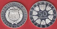 50 Schilling 1974 Oesterreich 125 Jahre Gendarmerie Polierte Platte, Pr... 9,00 EUR  zzgl. 5,00 EUR Versand