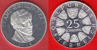 25 Schilling 1964 Oesterreich Franz Grillparzer Polierte Platte, Proof PP  10,00 EUR  zzgl. 5,00 EUR Versand