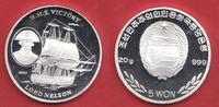 5 Won 2003 Nordkorea Lord Nelson - H.M.S. Victory, Seefahrt Polierte Pl... 26,00 EUR  zzgl. 5,00 EUR Versand