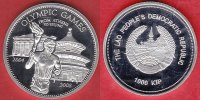 1000 Kip 2008 Laos Olympiade 2008 Peking, Fackelläufer Polierte Platte ... 22,00 EUR  zzgl. 5,00 EUR Versand