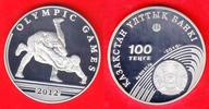 100 Tenge 2010 Kasachstan Summer Olympic Games 2012 London Polierte Pla... 35,00 EUR