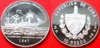 10 Pesos 1997 Kuba Postdampfschiff Washington, Seefahrt Polierte Platte... 24,00 EUR