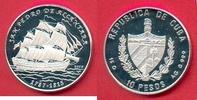 10 Pesos 2000 Kuba San Pedro de Alcantara, Seefahrt Polierte Platte Pro... 27,00 EUR