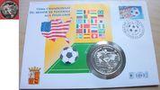 10 Diners 1993 Andorra Fußball WM USA 1994, Spieler vor Karte, Numisbri... 17,00 EUR  zzgl. 5,00 EUR Versand