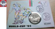 500 Lewa 1994 Bulgarien Fußball WM USA 1994, Ball im Netz, Numisbrief P... 15,00 EUR  zzgl. 5,00 EUR Versand