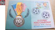 5 Dollar 1991 Cook Islands Fußball WM USA 1994, 3 Spieler, Numisbrief P... 6,00 EUR  zzgl. 5,00 EUR Versand