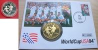 1 Dollar 1994 USA Fußball WM 1994, Zweikampf, Numisbrief Polierte Platt... 16,00 EUR  zzgl. 5,00 EUR Versand