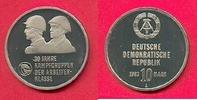 10 Mark 1983 DDR Kampfgruppen in Kapsel Polierte Platte offen, Proof PP  32,00 EUR  zzgl. 5,00 EUR Versand