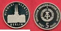 5 Mark 1987 DDR Nikolai-Viertel , 750 Jahre Berlin Polierte Platte offe... 27,00 EUR  zzgl. 5,00 EUR Versand