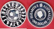 1,25 Dollars 2006 Australien 18 Spieler - Fußball WM 2006 Deutschland P... 27,00 EUR  zzgl. 5,00 EUR Versand