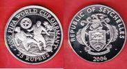 25 Rupees 2006 Seychellen Spieler unter Palmen - Fußball WM 2006 Deutsc... 17,00 EUR  zzgl. 5,00 EUR Versand