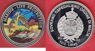 100 Liras 2000 Malta Trompetenfisch, Seepferdchen, Meeresfauna, Marine ... 10,00 EUR  zzgl. 5,00 EUR Versand