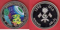 5 Rufiya 1998 Malediven Riff - Meeresfauna, Meeresfauna, Marine - Life ... 10,00 EUR  zzgl. 5,00 EUR Versand