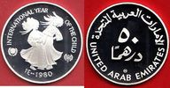 50 Dirham 1980 Vereinigte Arabische Emirate UNICEF International Year o... 27,00 EUR  zzgl. 5,00 EUR Versand