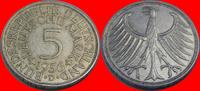 5 DM 1956 D BRD (9/JAUL) BRD 5 DM J. 387 Adler 1956 D sehr schön, kl. R... 7,00 EUR  zzgl. 5,00 EUR Versand