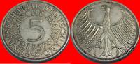 5 DM 1956 D BRD (12/JAUL) BRD 5 DM J. 387 Adler 1956 D sehr schön, kl. ... 6,00 EUR  zzgl. 5,00 EUR Versand
